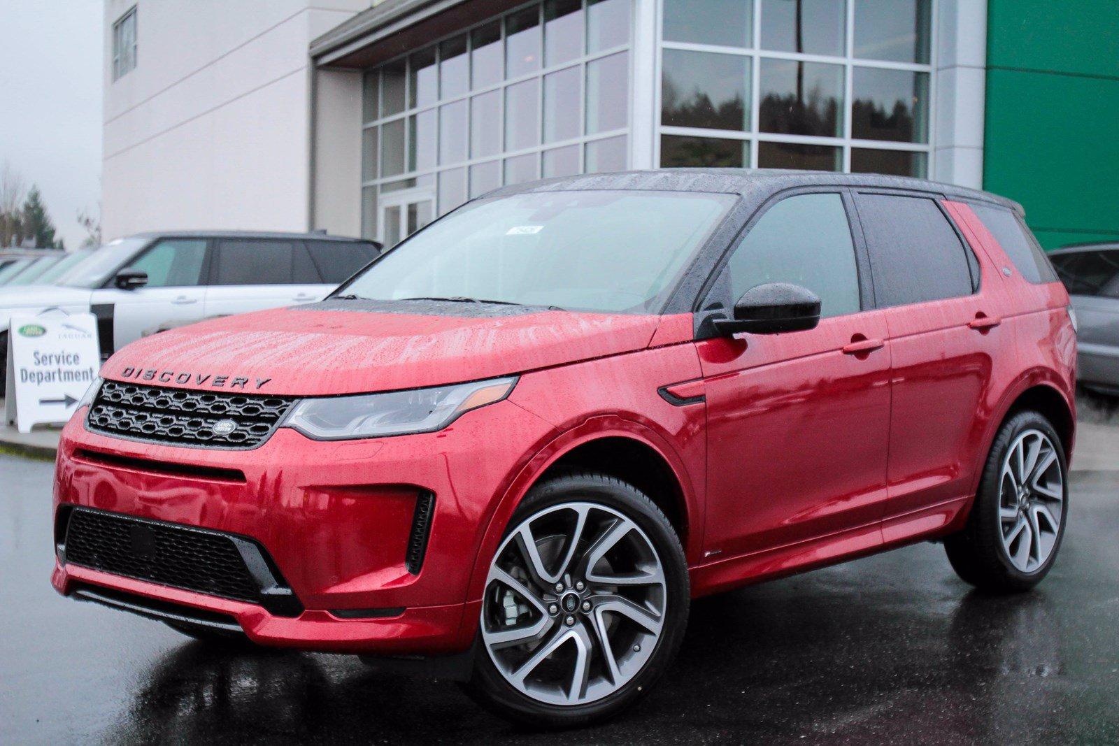 New 2020 Land Rover Discovery Sport HSE R-Dynamic