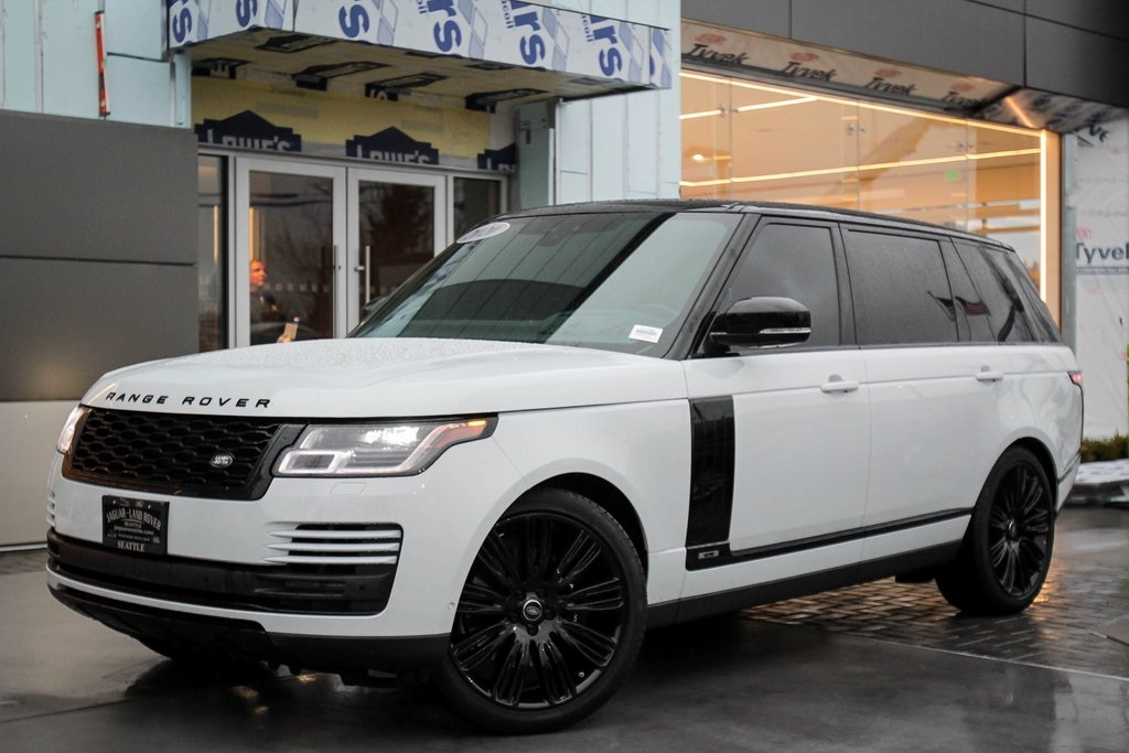 Pre-Owned 2020 Land Rover Range Rover Supercharged