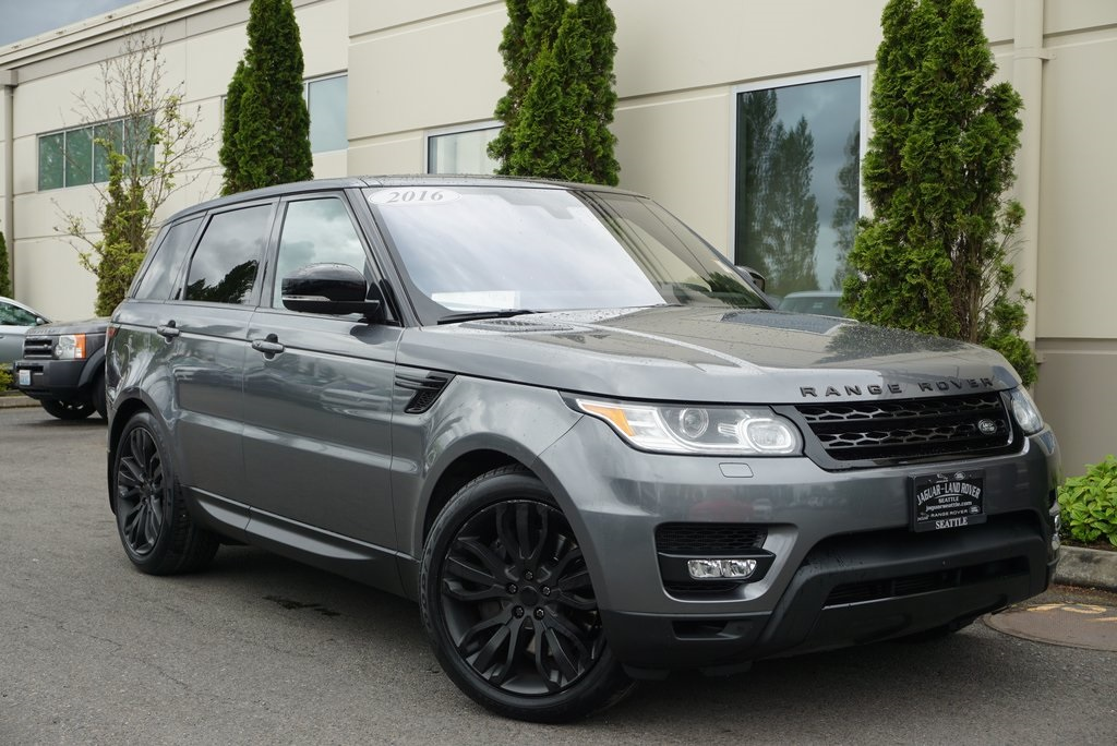 Range Rover Seattle >> Pre Owned 2016 Land Rover Range Rover Sport 5 0l V8 Supercharged Dynamic 4wd