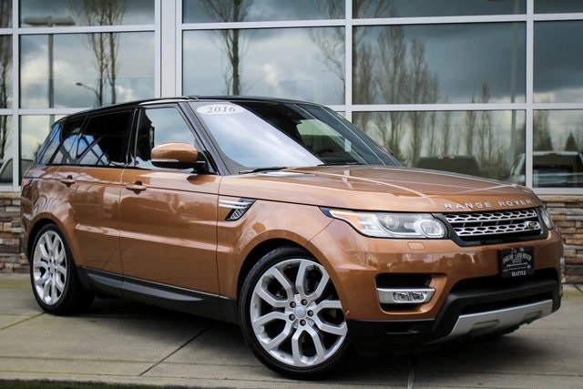 Pre Owned 2016 Land Rover Range Sport 3 0l V6 Supercharged Hse