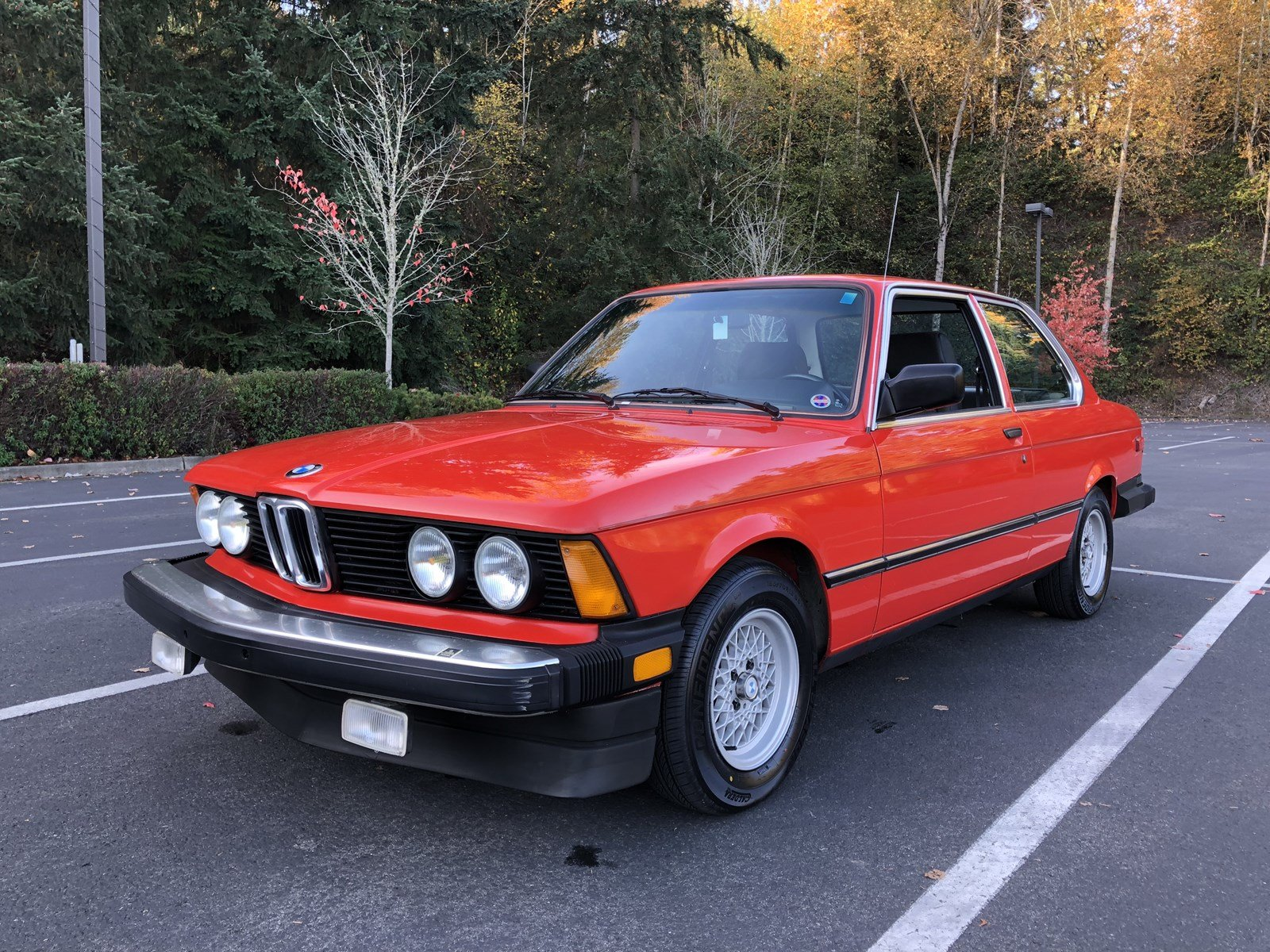 Pre-Owned 1982 BMW 320IS 320i