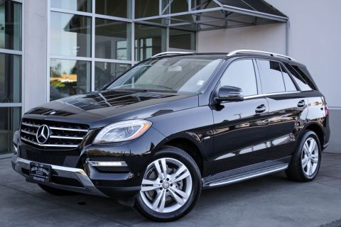 Pre-Owned 2012 Mercedes-Benz M-Class ML 350 BlueTEC®