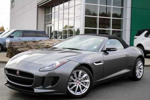Certified Pre-Owned 2016 Jaguar F-TYPE 2DR CONV AT PREMI