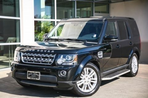 Certified Pre-Owned 2015 Land Rover LR4 HSE LUX