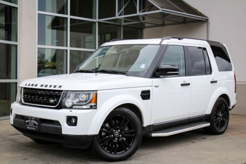 Certified Pre-Owned 2016 Land Rover LR4 HSE LUX