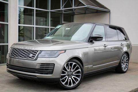 New 2019 Land Rover Range Rover Supercharged LWB