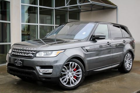 Certified Pre-Owned 2017 Land Rover Range Rover Sport 4DR SUV SC V8