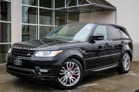 Certified Pre-Owned 2015 Land Rover Range Rover Sport Supercharged