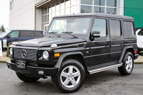 Pre-Owned 2008 Mercedes-Benz G-Class 5.0L