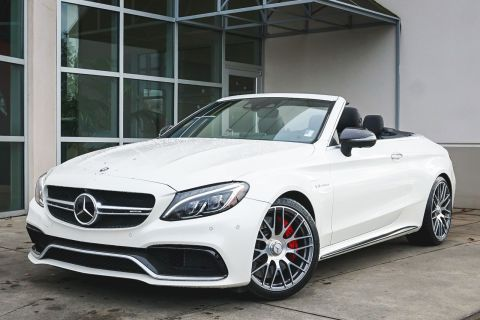 Pre-Owned 2017 Mercedes-Benz C-Class AMG® C 63 S